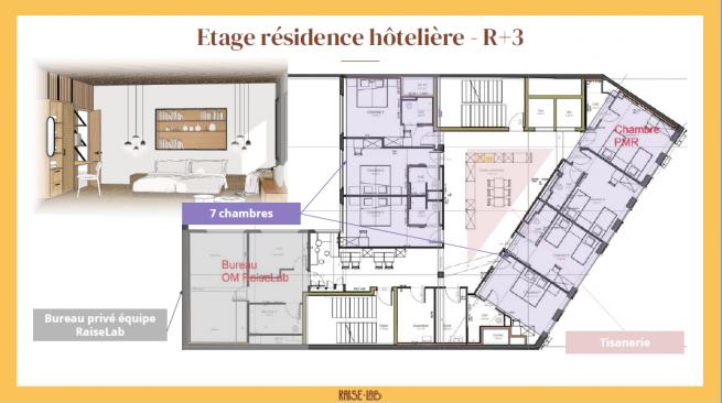 raiselab etage hotel
